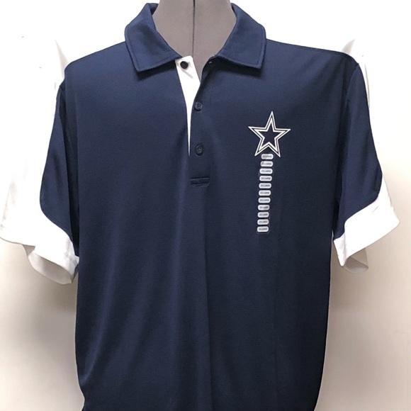 dallas cowboys polo golf shirts